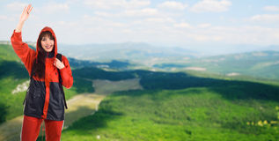 Paisagem bonita da montanha Fotos de Stock Royalty Free