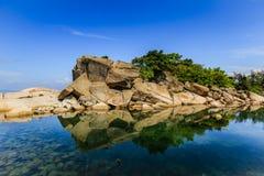 Paisagem bonita da praia Fotos de Stock