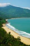 Paisagem bonita da praia de Lang Co Fotos de Stock Royalty Free