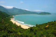 Paisagem bonita da praia de Lang Co Foto de Stock Royalty Free