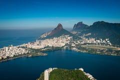 Paisagem bonita de Rio de janeiro imagens de stock royalty free