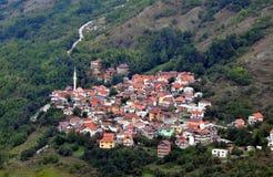 Paisagem bonita, Dikance, vila de montanhas, montanha de Shar, Kosovo fotografia de stock royalty free