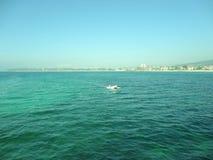 Paisagem bonita do mar Mediterr?neo foto de stock royalty free