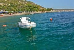 Paisagem bonita do mar Foto de Stock Royalty Free