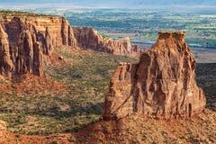 Paisagem bonita do monumento nacional de Colorado Imagens de Stock Royalty Free