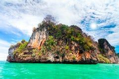 Paisagem bonita do oceano Imagens de Stock Royalty Free
