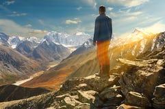 Paisagem bonita do outono, montanhas Rússia de Altai Imagem de Stock Royalty Free
