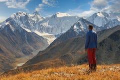 Paisagem bonita do outono, montanhas Rússia de Altai Imagem de Stock