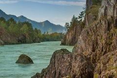 Paisagem bonita do rio Fotos de Stock
