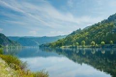 Paisagem bonita do rio moselle germany Imagem de Stock Royalty Free