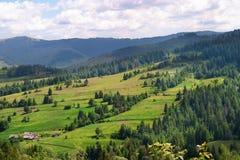 Montes da montanha fotografia de stock
