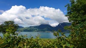 Paisagem bonita em Switzerland foto de stock