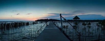 Paisagem bonita em Tailândia Foto de Stock Royalty Free