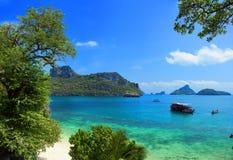 Paisagem bonita exótica de Tailândia Fotos de Stock
