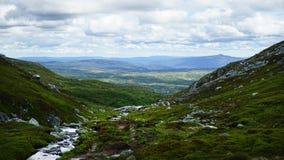 Paisagem bonita nas montanhas foto de stock royalty free