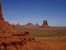 Paisagem bonita no vale do monumento, Utá, EUA fotos de stock royalty free