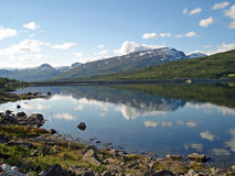 Paisagem bonita Noruega Fotos de Stock