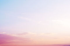 paisagem bonita - serenidade e filtro de cor de quartzo cor-de-rosa fotografia de stock royalty free