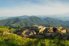 Paisagem cénico das montanhas de North Carolina fotos de stock