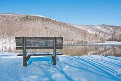 Paisagem cênico da área de recreação do lago Sherando foto de stock