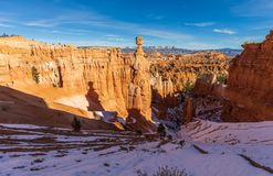 Paisagem cênico de Bryce Canyon National Park Winter Imagem de Stock