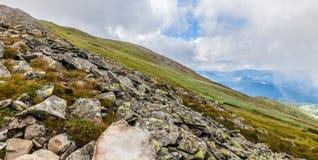 Paisagem Carpathian Fotografia de Stock