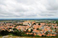 Paisagem checa de Moravian Imagens de Stock
