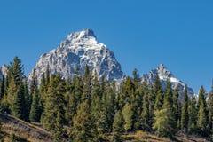 Paisagem cênico de Teton Foto de Stock Royalty Free