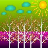Paisagem colorida Imagem de Stock