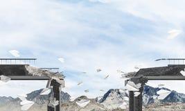 Paisagem colorida da montanha do verão Imagens de Stock Royalty Free