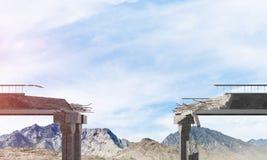 Paisagem colorida da montanha do verão Fotos de Stock Royalty Free