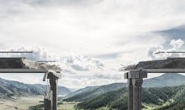 Paisagem colorida da montanha do verão Foto de Stock Royalty Free