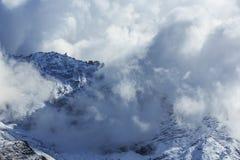 Paisagem com as montanhas altas em Himalaya Fotos de Stock