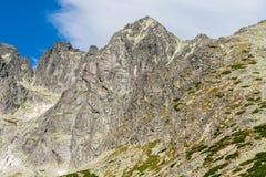 Paisagem com as montanhas em Slovakia Imagem de Stock Royalty Free