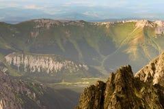 Paisagem com as montanhas em Slovakia Foto de Stock Royalty Free
