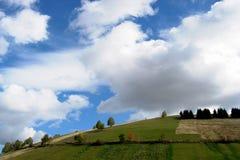 Paisagem com céu e nuvens Imagens de Stock Royalty Free