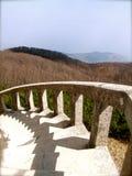 Paisagem com escadas Fotos de Stock Royalty Free