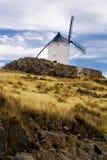 Paisagem com moinho de vento Foto de Stock Royalty Free