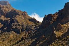 Paisagem com montanhas Fotografia de Stock