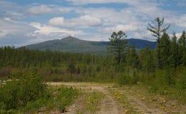 Paisagem com montanhas Imagem de Stock Royalty Free