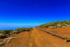 Paisagem com o passeio na ilha de Tenerife Imagens de Stock Royalty Free