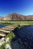 Paisagem com rios. Himalayas Imagem de Stock