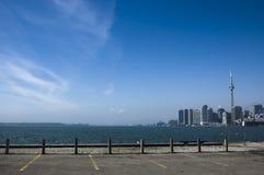 Paisagem com skyline de toronto Imagens de Stock Royalty Free