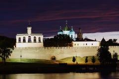 Paisagem com um tipo em Kremlin Foto de Stock Royalty Free