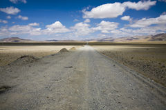 Paisagem com uma estrada Imagem de Stock Royalty Free