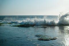 Paisagem com vistas do mar Imagens de Stock Royalty Free