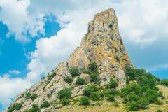 Paisagem crimeana - montanha do mel Imagem de Stock
