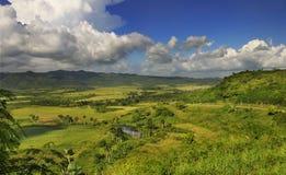 Paisagem cubana do campo - serra escambray Fotografia de Stock Royalty Free