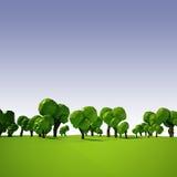 paisagem 3d Imagem de Stock