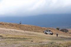 Paisagem da área da conservação de Ngorongoro Imagens de Stock Royalty Free